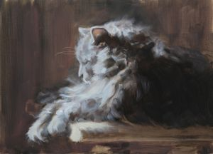 Cat Nap, Oil